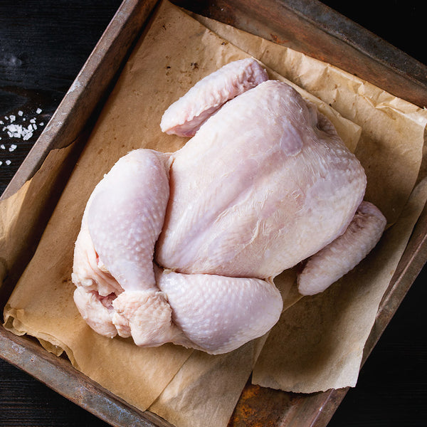 Bostocks Organic Whole Chicken - Size 16: 1.5 – 1.7kg per pack