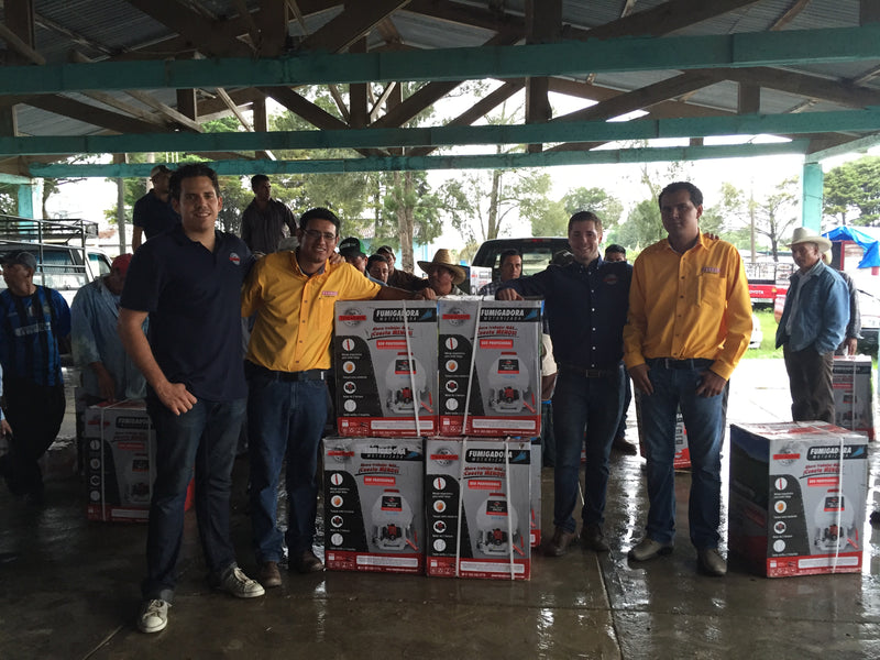 Tomahawk Power supports its distributor in Comitan, Chiapas