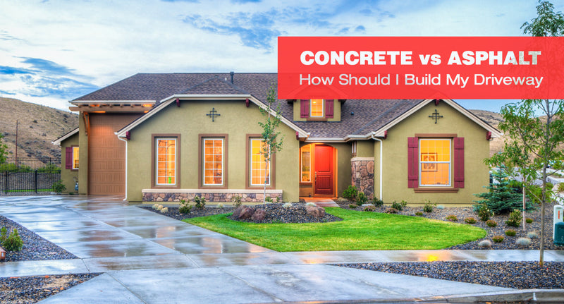Concrete vs. Asphalt: How Should I Build My Driveway