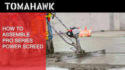 How to Assemble and Start a Tomahawk Pro Series Concrete Screed