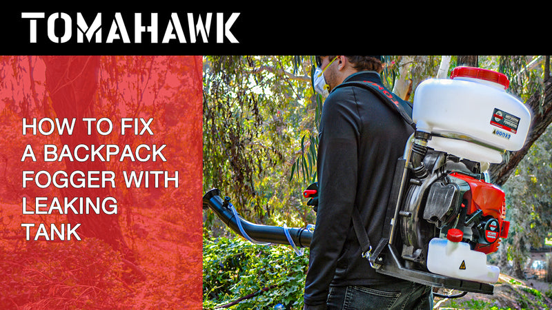 How to Fix a Common Leak with Backpack Foggers
