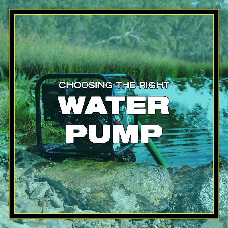 Choosing the Right Water Pump