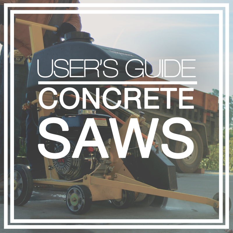 User's Guide: Walk Behind Concrete Saws