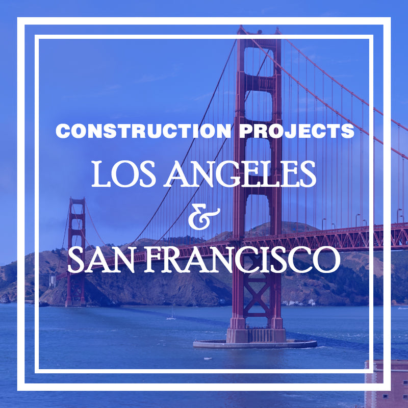 Construction Projects 2019: San Francisco and Los Angeles Infrastructure Projects