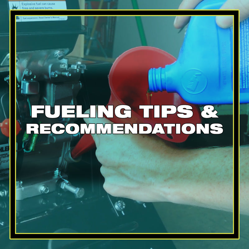 Fueling Tips and Recommendations