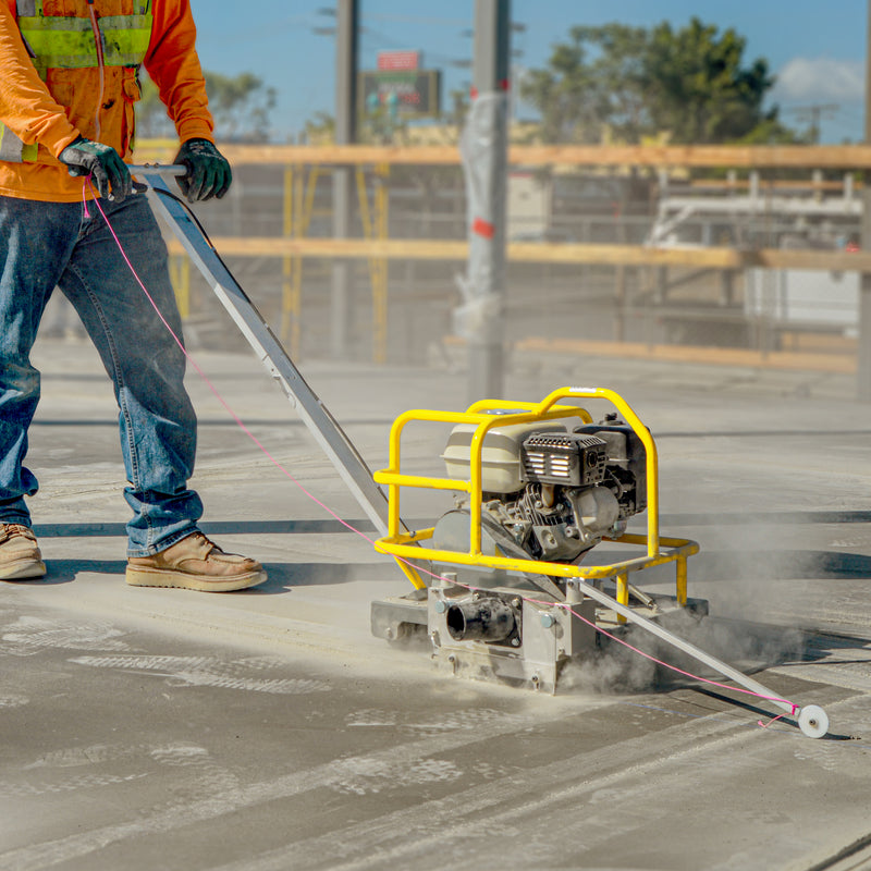 How to Make Concrete Joint Cuts in Fresh Concrete