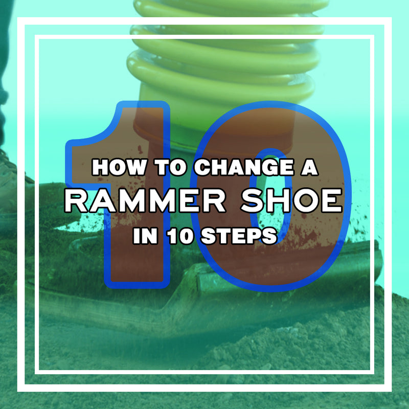 How to Change Your Rammer Shoe in Less Than 10 Steps