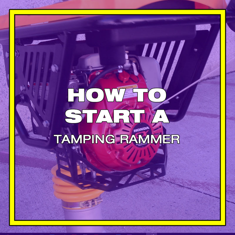 How to Start a Tomahawk Jumping Jack Rammer