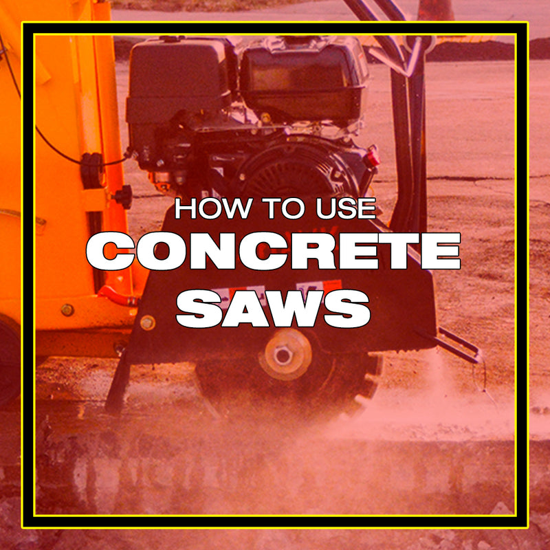 How to Use a Concrete Saw