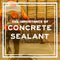 The Importance of Spraying Sealant on Fresh Concrete