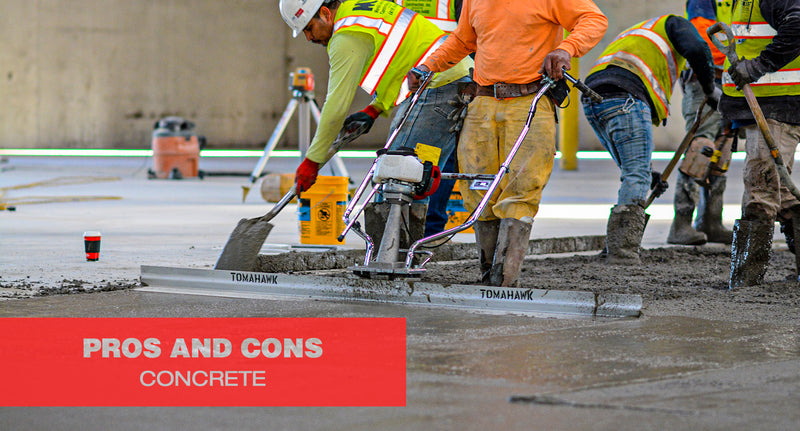 The Pros and Cons on Concrete
