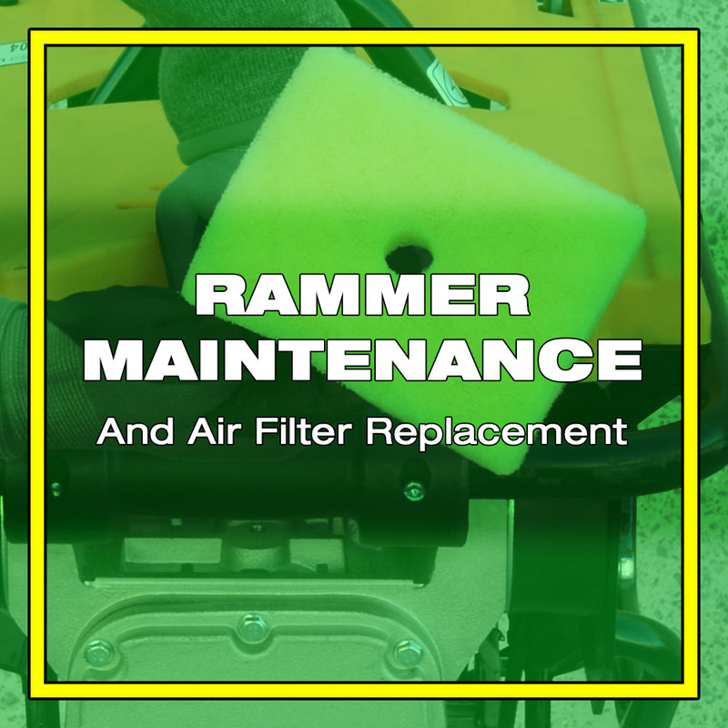 How to Replace a Jumping Jack Rammer's Air Filter and Other Maintenance Tips