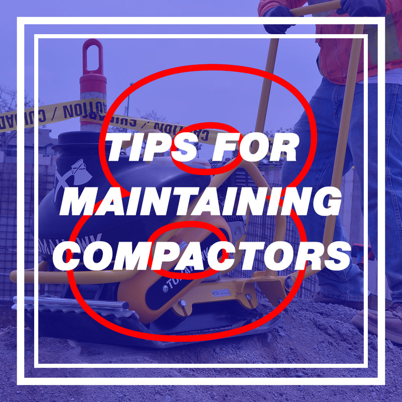 How To Maintain Your Plate Compactor