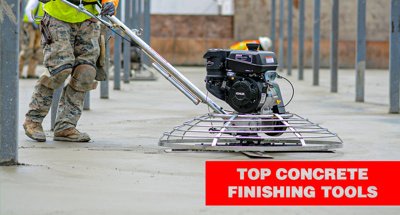 Top 10 Concrete Finishing Tools