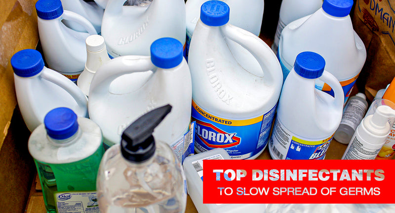 Top 10 Disinfectants For Coronavirus And Other Germs