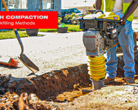 Trench Compaction: Backfilling Methods