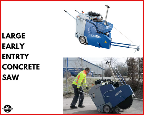 Tomahawk Power Large Early Entry Concrete Saw
