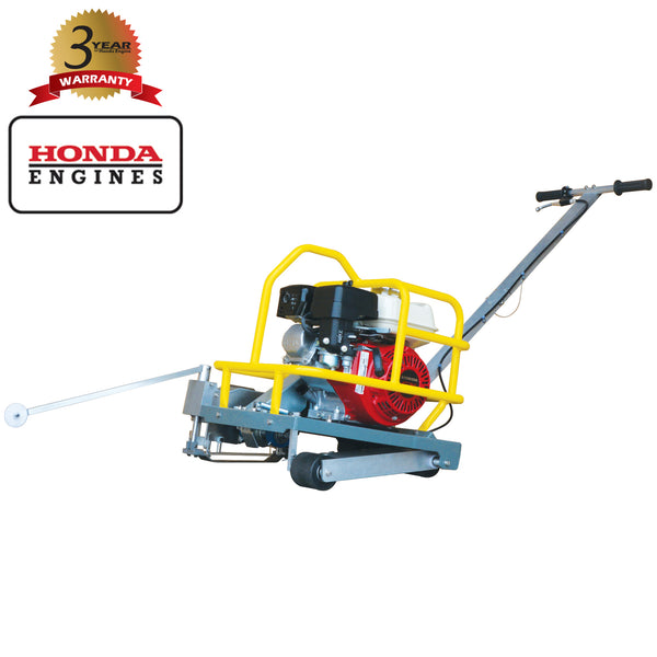 "6"" Early Entry Green Concrete Saw with 5.5 HP Honda GX160 Engine - Tomahawk Power"