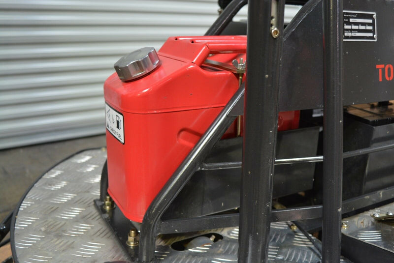 "36"" Dual Gas Concrete Wet Power Trowel Cement Powered by 22.1 HP Honda Engine - Tomahawk Power"