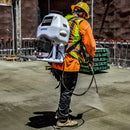 Backpack Concrete Sprayer with 1.8HP 2 Stroke Engine - Tomahawk Power