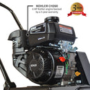 6 HP Kohler Vibratory Plate Compactor Tamper for Soil Compaction Bundle - Tomahawk Power