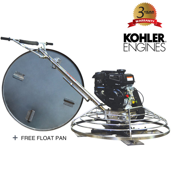"36"" Power Trowel with 6HP  Kohler Engine - Tomahawk Power"
