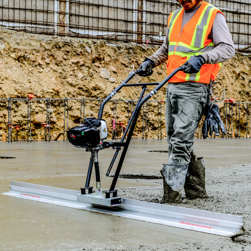12ft Blade with 7000 RPM Vibratory Screed Power Unit w/ Tomahawk Engine - Tomahawk Power