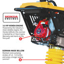 "3.6 HP Honda Vibratory Rammer Jumping Jack 3350 lb/ft GX120R Engine 13""x11"" Shoe - Tomahawk Power"