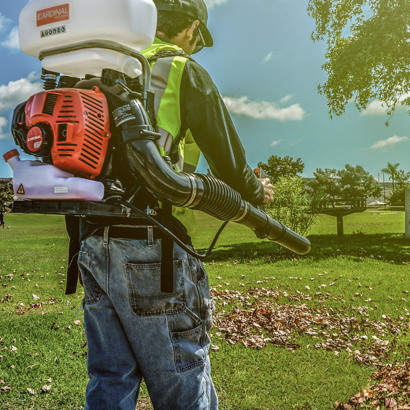 3HP Backpack Fogger Blower Duster Leafblower 3-in-1 Sprayer with 3.5 Gal Tank - Tomahawk Power