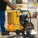 DEMO 18 in. 13 HP Honda Walk Behind Concrete Saw for Asphalt Concrete Cutting - Tomahawk Power