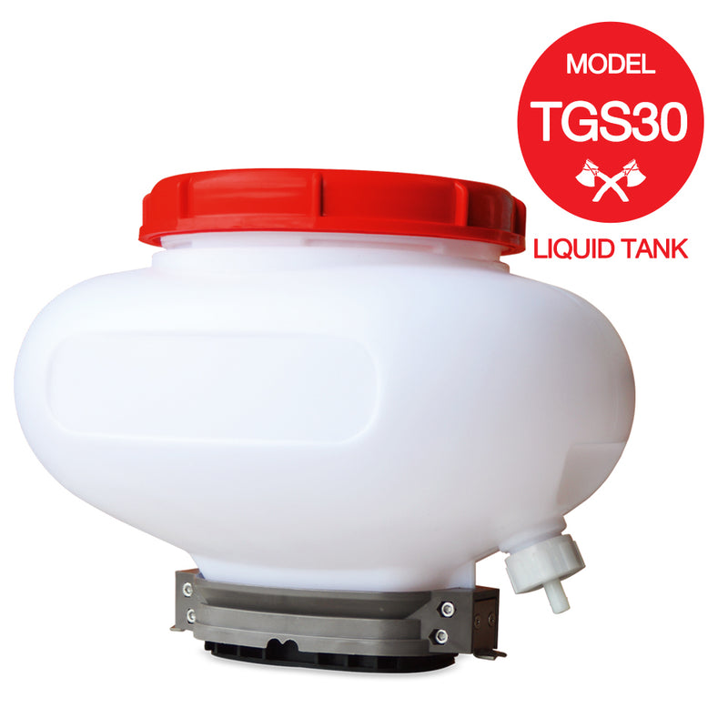 4 Gallon Liquid Tank for Granular Spreader for Liquid Pesticide Fertilizer