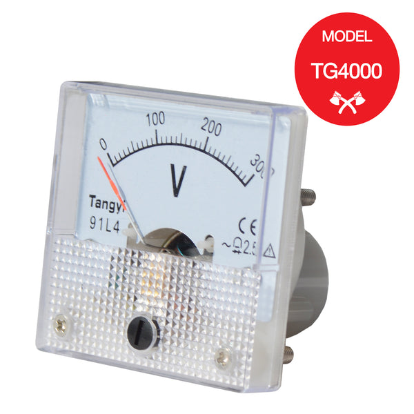 Voltmeter for TG4000 Portable Generator