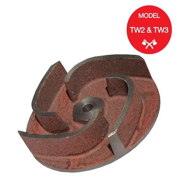Impeller for TW2 or TW3 Gas Water Pump