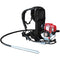 1.6HP Honda Concrete Vibrator with 10ft Flex Shaft Cable Whip Backpack