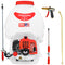 5 Gallon Gas Backpack Sprayer 450 PSI Pump with Nozzle Bundle