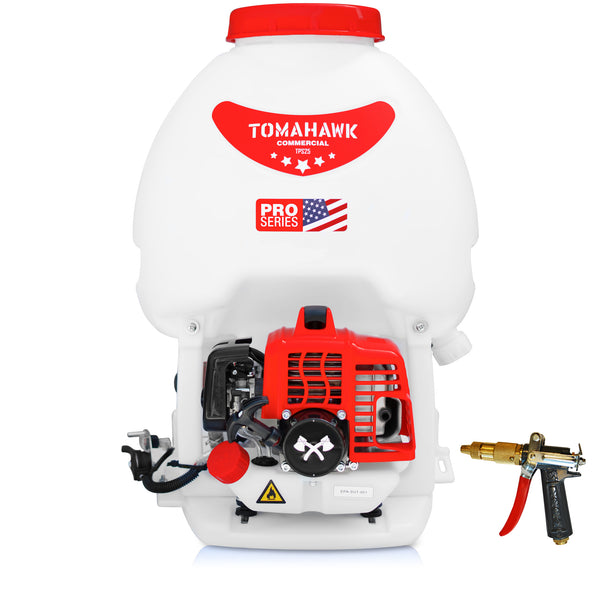5 Gallon Gas Backpack Sprayer 450 PSI Pump for Mosquitoes Pesticides