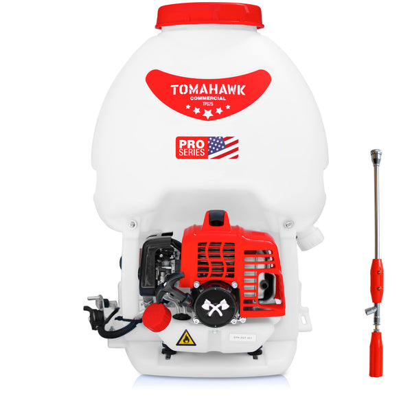 Fogger Gun with 5 Gallon Gas Backpack Sprayer 450 PSI Pump Garden Mister Mosquito Insecticide