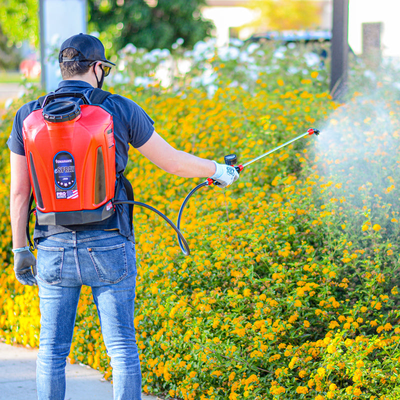 4.75 Gallon Battery Powered Backpack Sprayer with Foundation Gun for Pest Control