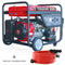 9000 Watt Electric Start Generator Gas Power Portable Home Use Residential Wheel