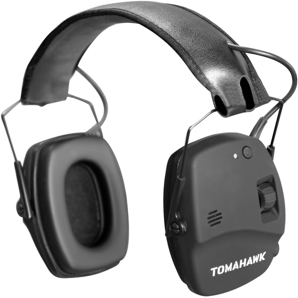Tomahawk Bluetooth PRO Series Slim Electronic Ear Muffs, Flat Black