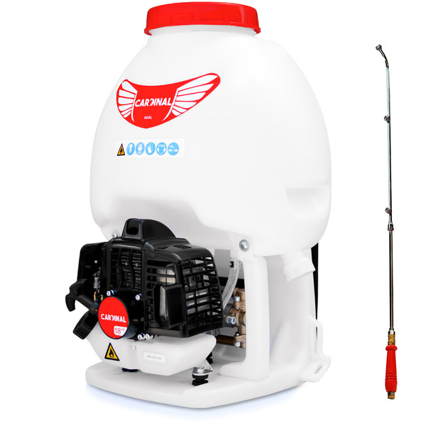 5 Gallon Gas Backpack Sprayer 435 PSI Pump for Mosquitoes Pesticides