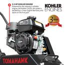 Vibratory Plate Compactor Tamper with Kohler Engine for Dirt Gravel Soil Compaction