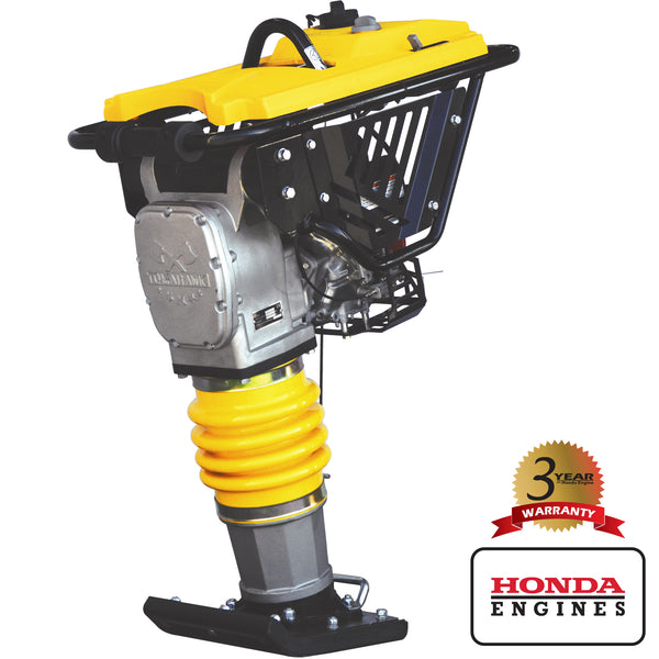 PRE ORDER 3.6HP Honda Vibratory Rammer Jumping Jack Tamper with Honda GXR120 Engine Impact Force 3,550 lbs/ft