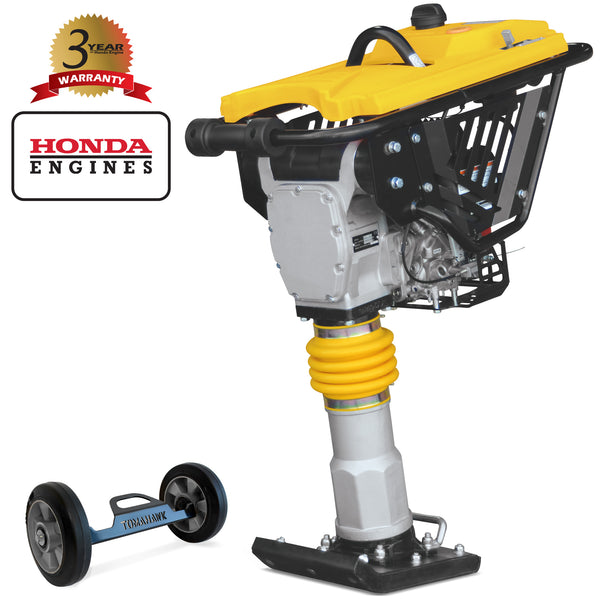 3 HP Honda Vibratory Rammer Tamper with Honda GX100 Engine 3350 lbs/ft