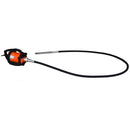 Concrete Vibrator Electric 10ft Flex Shaft Cable Whip Backpack 14000 VPM