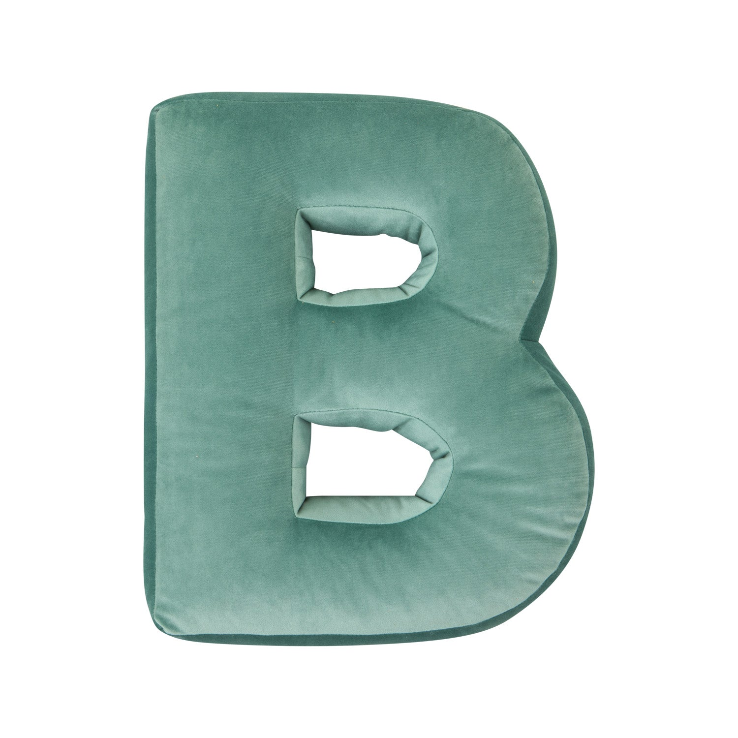 Velvet Letter J Cushion by Betty's Home - Click for colour options!
