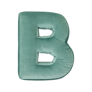 Velvet Letter L Cushion by Betty's Home - Click for colour options!