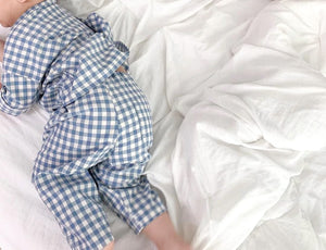 Cotton Plaid Breathable Pyjamas