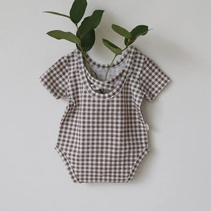 Gingham Bodysuit