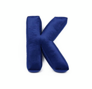 Velvet Letter T Cushion by Betty's Home - Click for colour options!